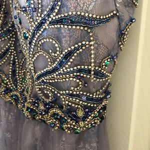 Dave & Johnny Dresses - Periwinkle Prom Dress